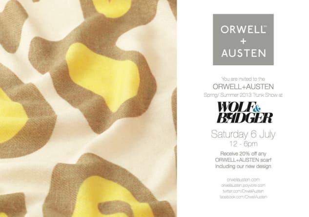Orwell & Austen