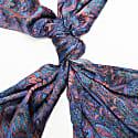 Paisley Petal Silk Scarf image
