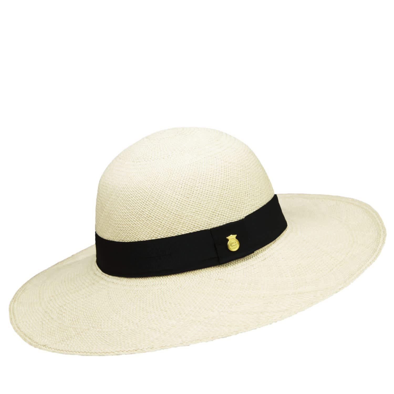 48fa04883841d4 Ladies Genuine Panama Hat Natural Wide Brim | La Marqueza Hats ...