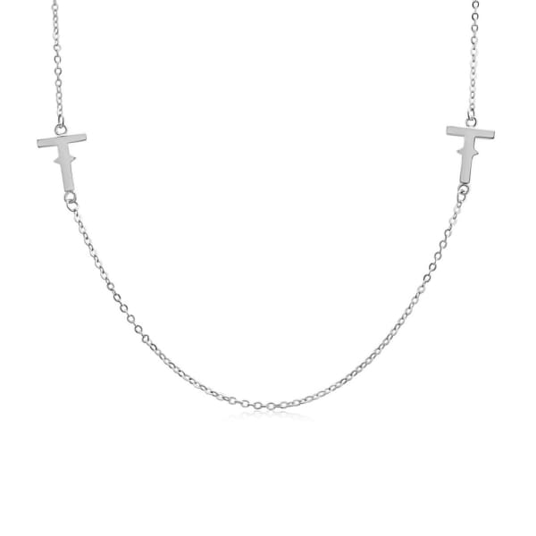 Tissuville Ikon Necklace - Silver
