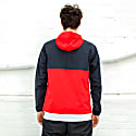 Eject 1/4 Zip Jacket - Black Red image