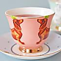 Sausage Dog & Poodle Tea Cup & Saucers Set image
