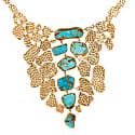 Mosaic Necklace in Turquoise  image