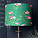 Bees & Anemones Lampshade image