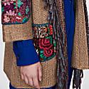 Ethnic Knit Coat Kioto image