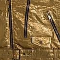 Men's Neo-Classic Biker Jacket In Gold image