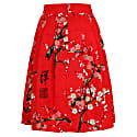 Hanna Skirt Blossom Red image