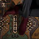 Deep Burgundy - Luxury Socks image