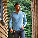 The New Elder Henley Shirt Smoky Blue image
