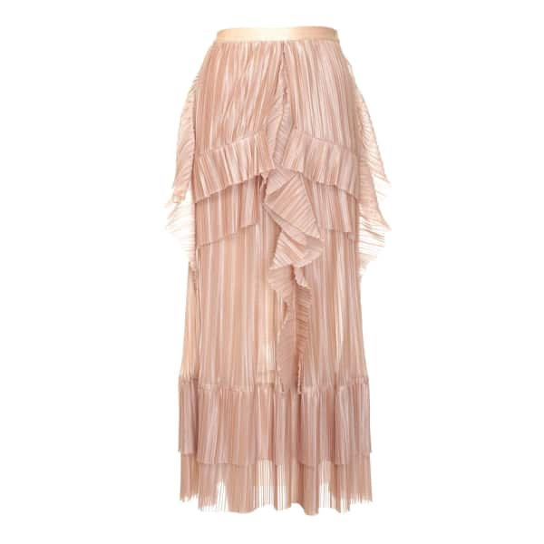 JIRI KALFAR Rose Gold Skirt