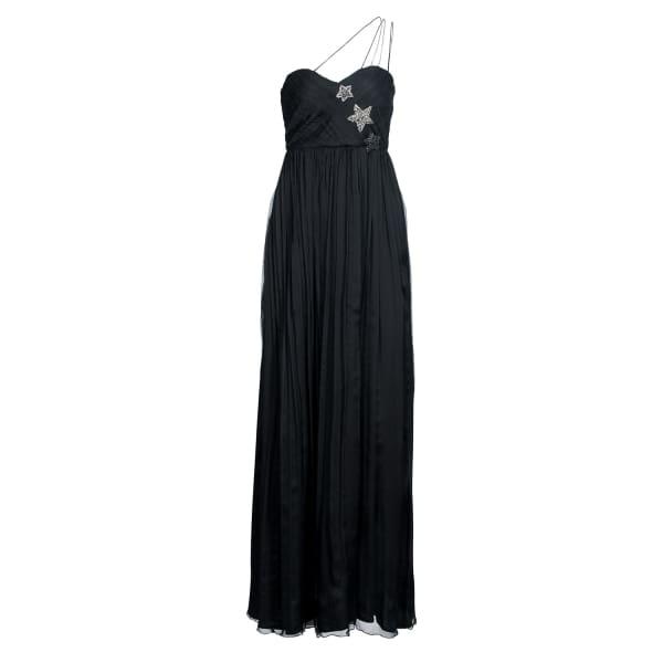 NISSA Elegant Dress With Star Details