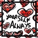 Love Yourself Always Silk Scarf image
