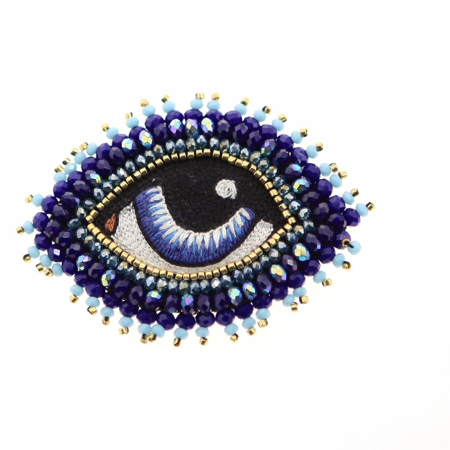 en mogador celeste eye blue broche product c brooch bleu m leste