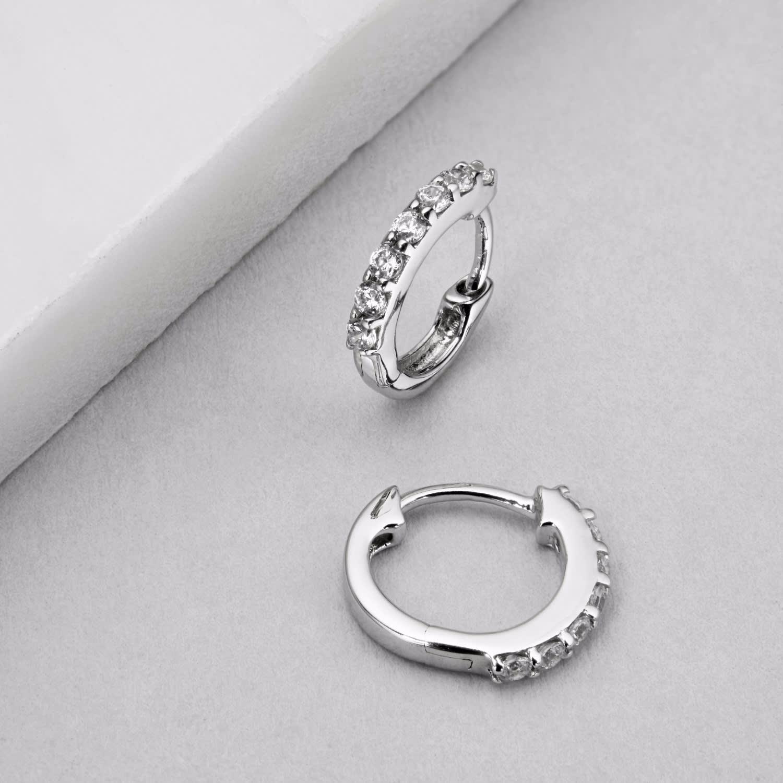 sterling hoop personalised large shop jewellery creole gifts silver earrings flat
