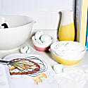 Mixed Colours Colour Dip Nested Bowl - Set Of 3 image