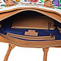 Tote - Selden Art Canvas & Vachetta Leather image