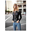 The Bond Girl Leather Jacket image