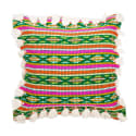 Bedawi Green Cotton Cushion image
