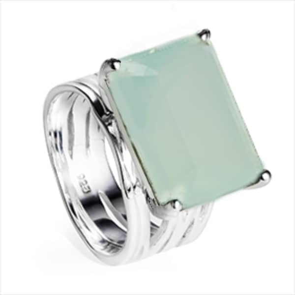 pietra-sterling-silver-cocktail-ring-aqua-chalcedony by neola