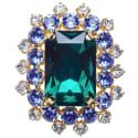 Emerald Brooch  image