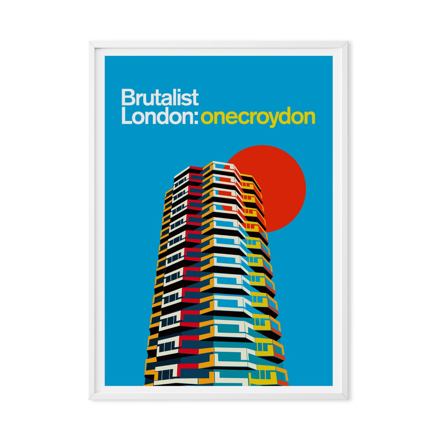 One croydon art print image