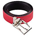 Reverse Vegan Belt – Reversible Black/Red image