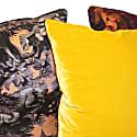 Silk Satin Large Cushion Bialowieza Forest Iced Lilac image