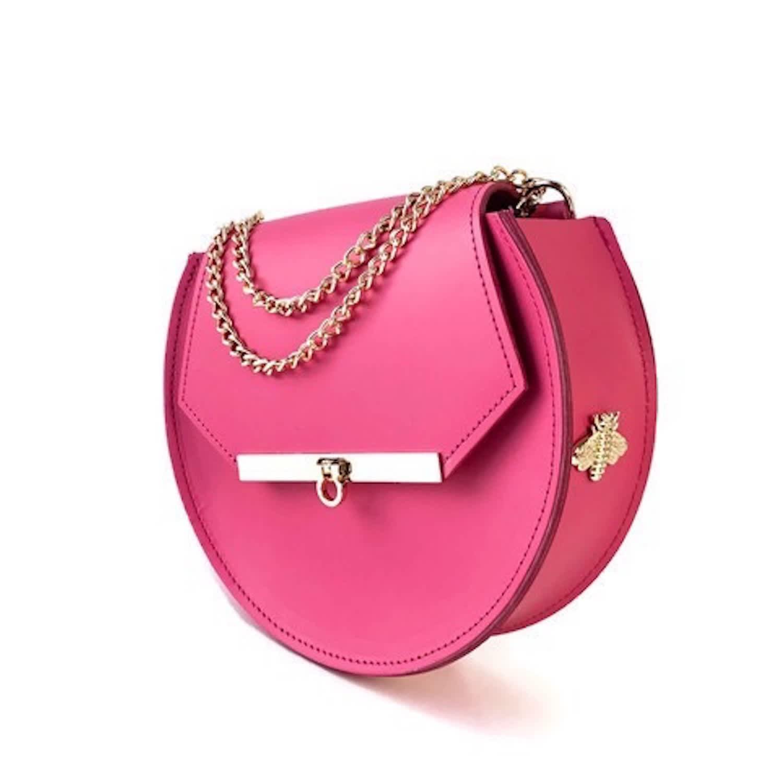 d6200d488a Loel Mini Bee Crossbody Bag In Pink Punch | Angela Valentine ...