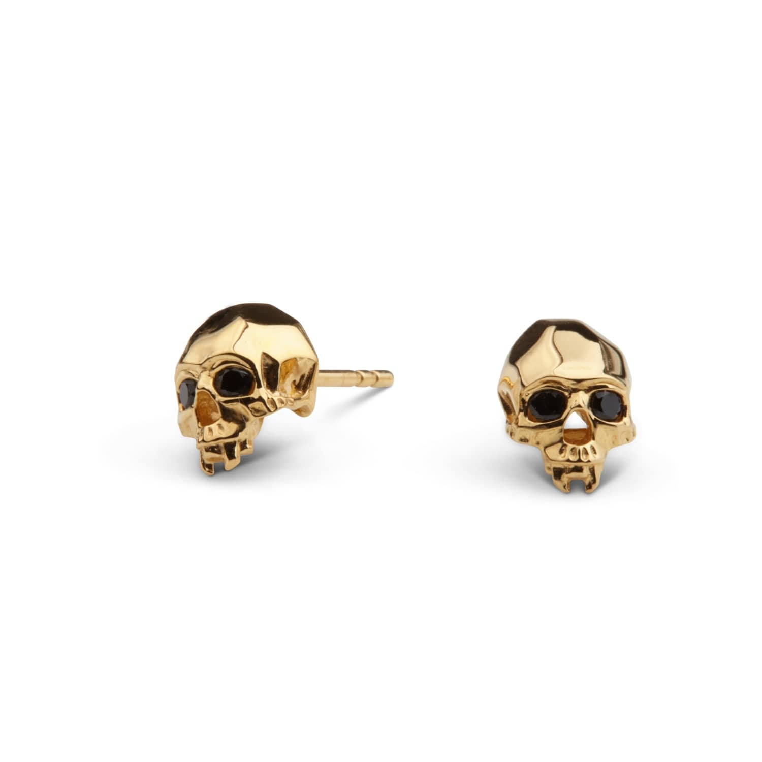 gold products mori memento earrings stud more madyha skull oprions