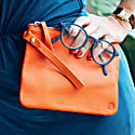Pouch With Strap Orange image