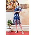 Doutzen Embroidered Lace Co-ord Midi Dress image