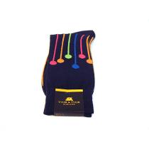 TYLER & TYLER Dropspot Navy Socks