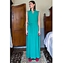 Green Crossed Dress image