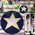 Stargazer Blue Coaster image
