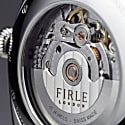 Firle Sennen Automatic In Green & Silver With Cognac Strap | Swiss Calibre: STP1-11 image