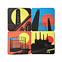 Industrial London Coaster Set image