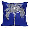 Van Gogh Blue Palm Beach Cushion image