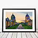 Old Royal Naval College, Greenwich Art Print image