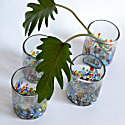 Alegria Handblown Recycled Glasses Set Of 4 image