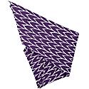 Leaf Tea Towel Set Plum & Red image