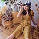 Janella Jumpsuit - Gold image