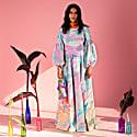 Niram Pink Marbling Maxi Dress image