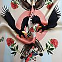 Medium Imperial Eagles Pastels Silk Scarf image