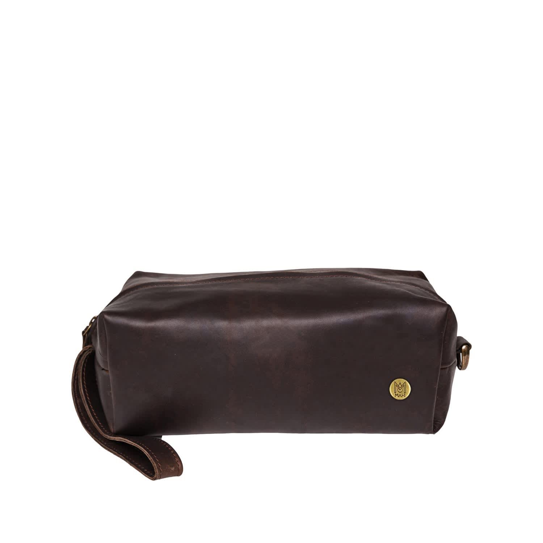 732b27e6bdcc Leather Classic Toiletry Bag Dopp Kit Vintage Mahogany by MAHI Leather