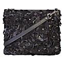 Alexa Cross Body Leather Bag Black image