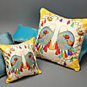 Jaipur Silk Cushion  image
