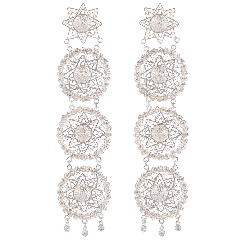Vanilo Amaya Earrings Silver xnJSXKmwt