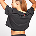 Core Collection Crop Tee - Charcoal image