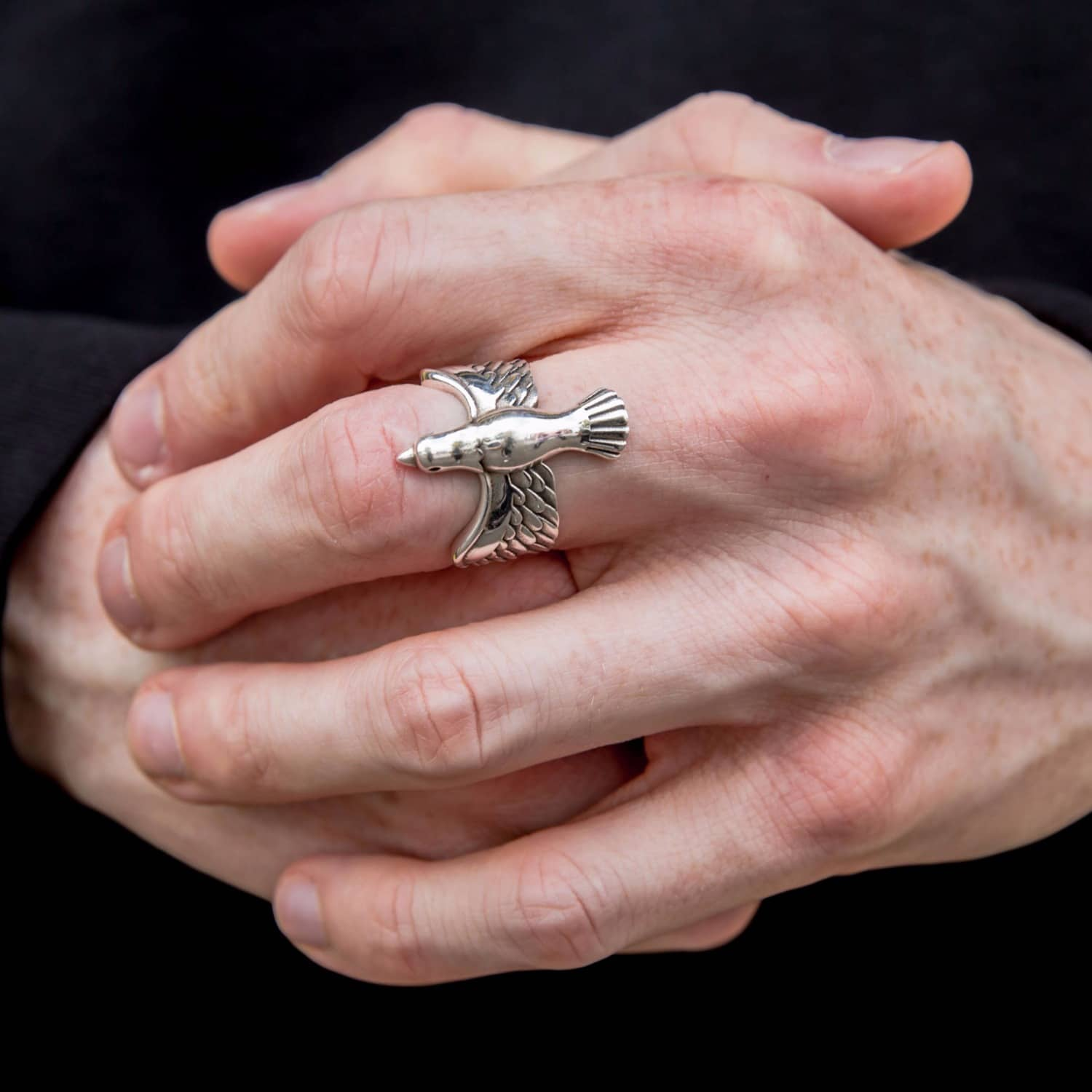 Silver Dove Ring | Serge DeNimes | Wolf & Badger