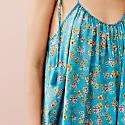 Maia Turquoise Blue Floral Sundress image